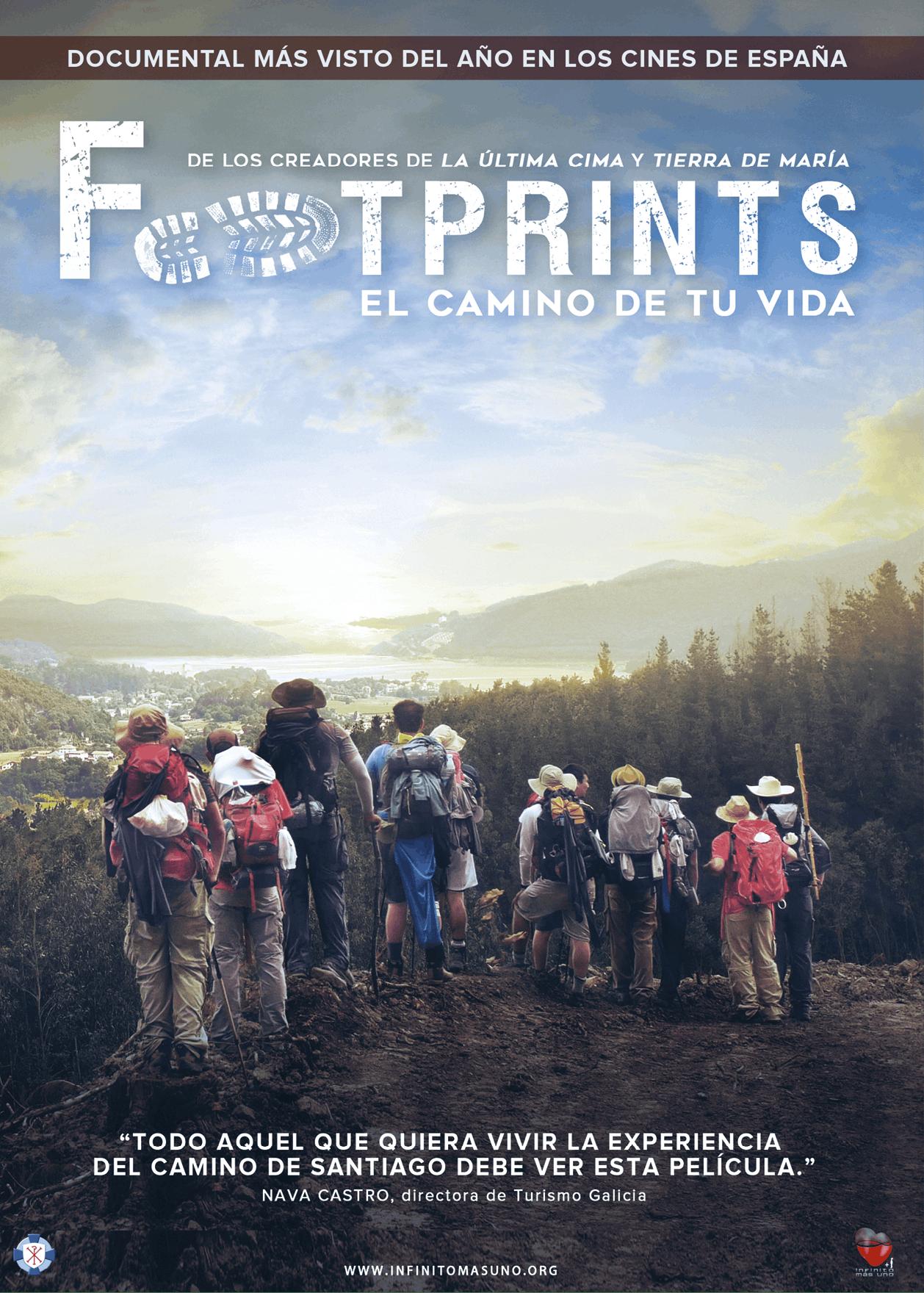 Cartel del documental Footprints, Juan Manuel Cotelo, 2016
