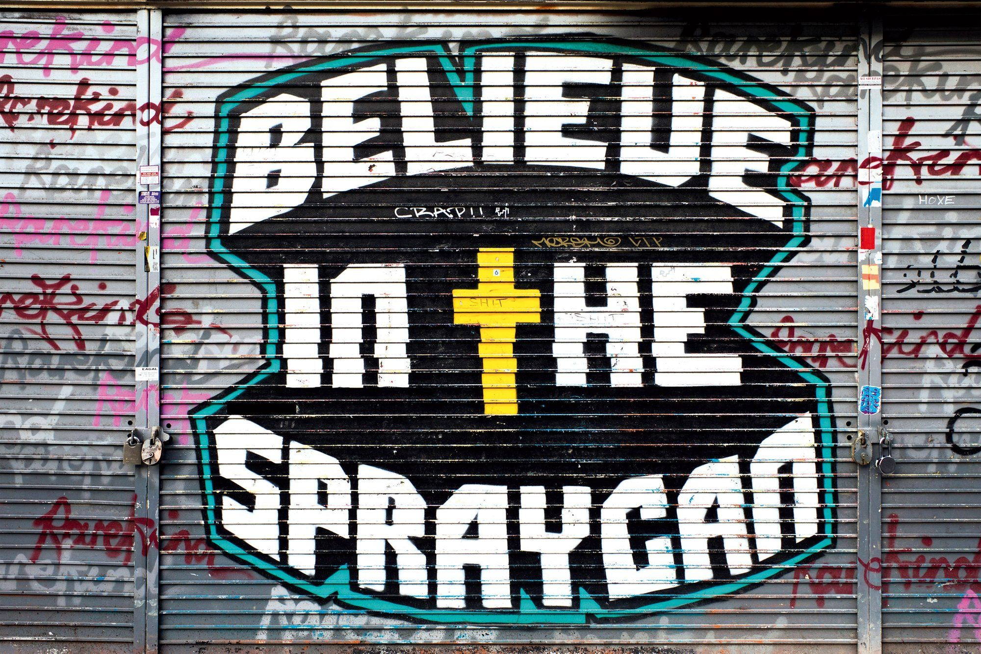 Believe in the spraycan