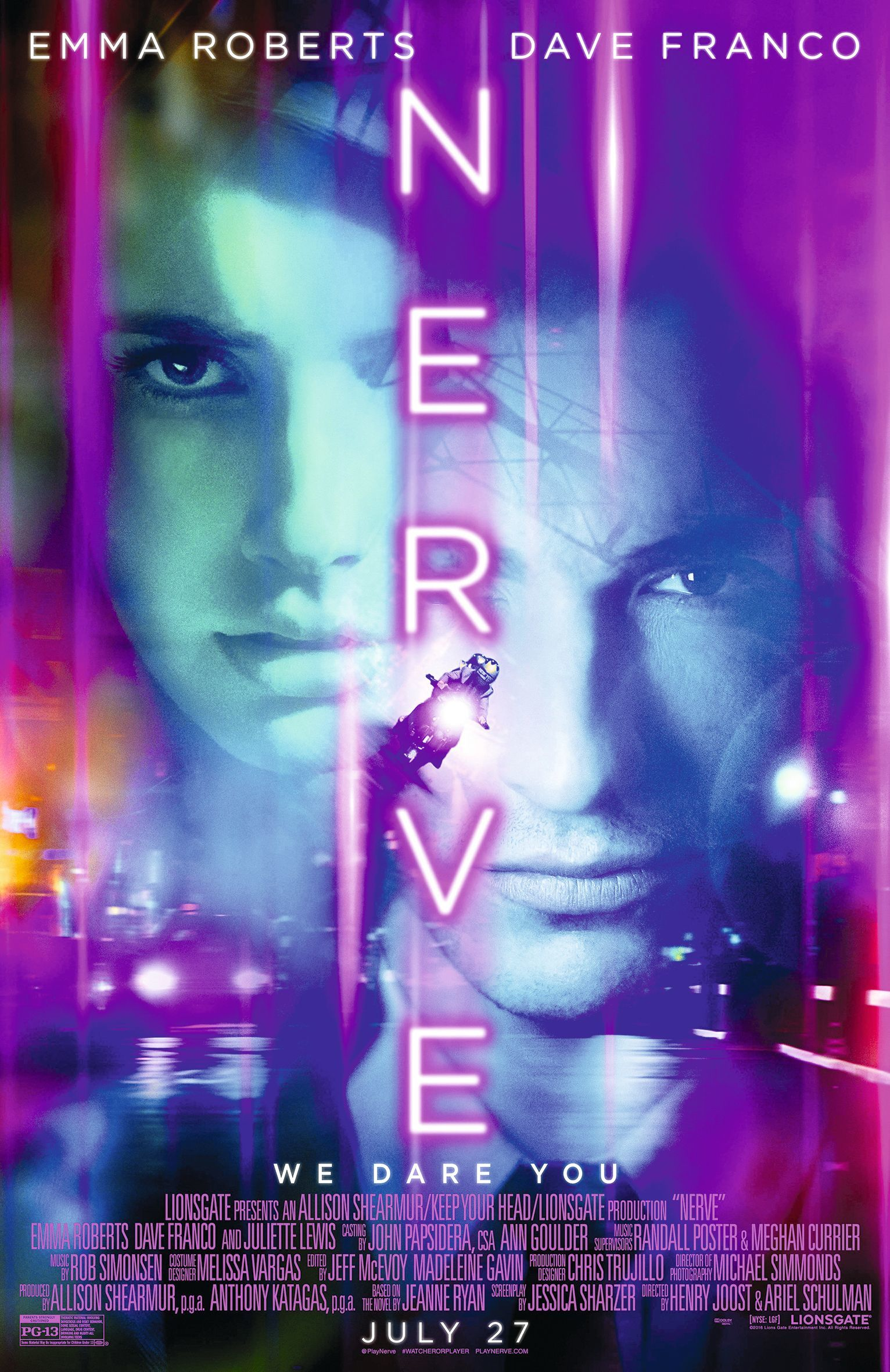 Poster of Nerve, by Ariel Schulman and Henry Joost