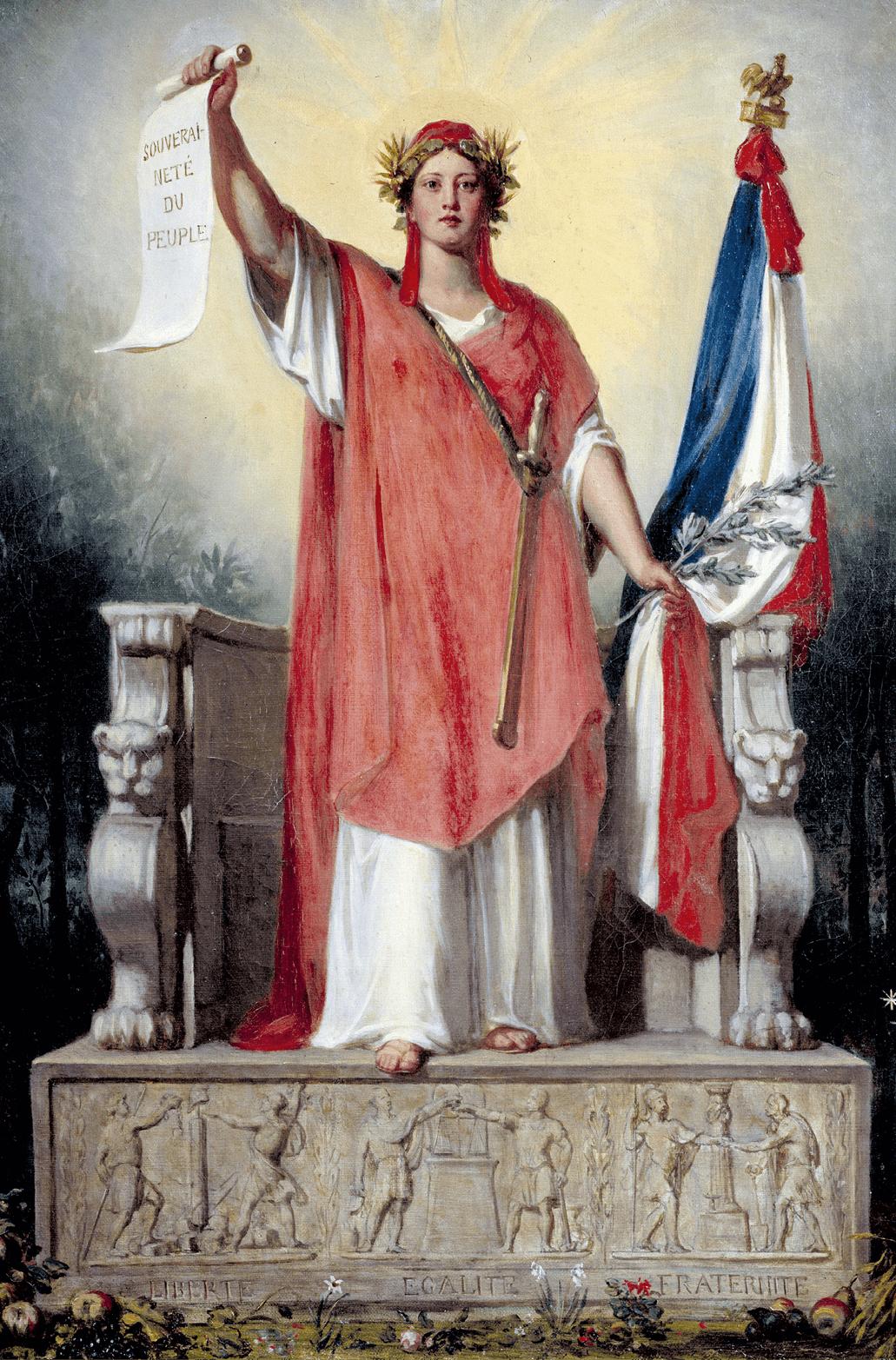 Sébastien Cornu, Allégorie de la République