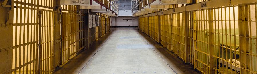 Évolution d'une chaîne de Markov - prison