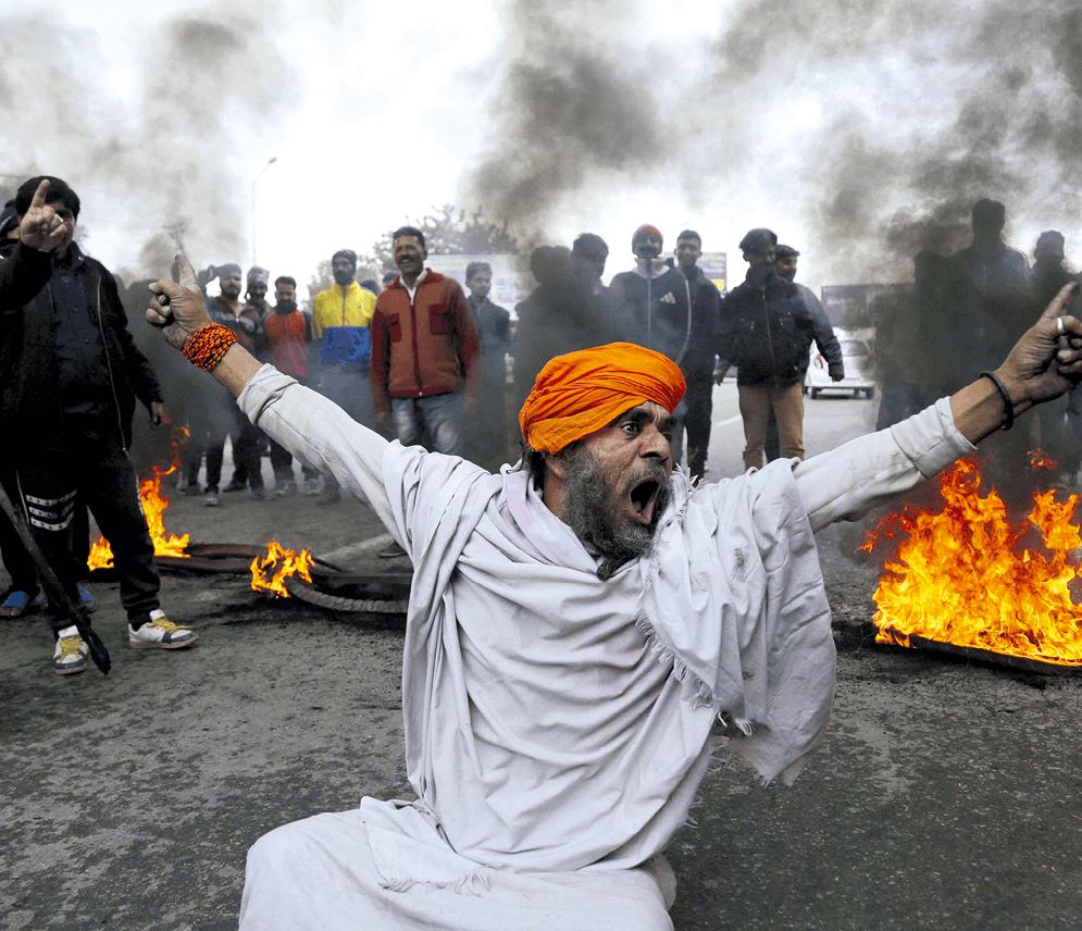 Channi Anand, manifestants indiens à Jammu, Terrorisme et nationalisme hindou