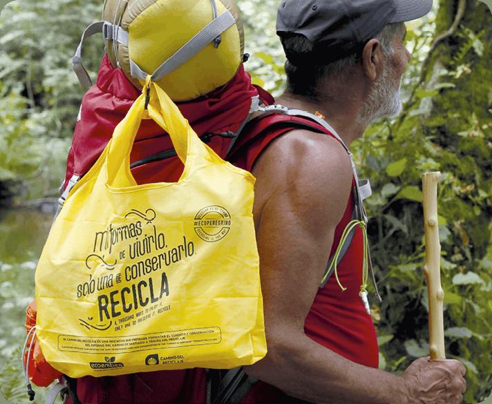 Camino del reciclaje