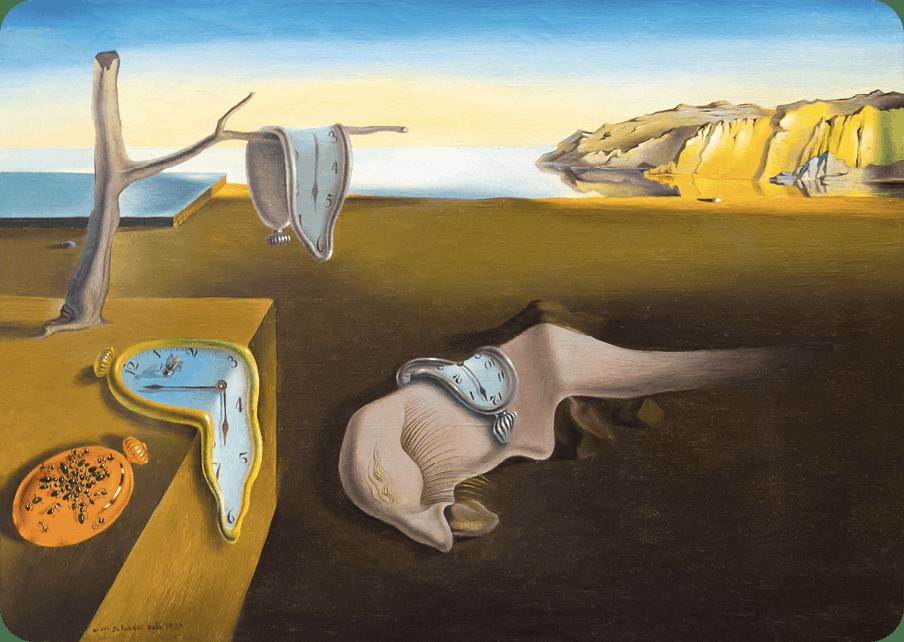 Salvador Dalí, La persistencia de la memoria, 1931