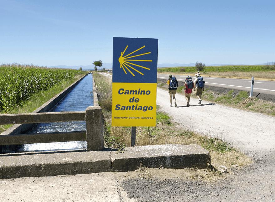 Camino de San Martín del Camino.
