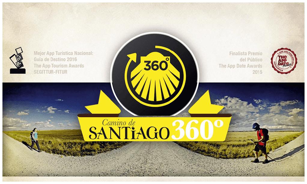 Aplicación Camino de Santiago 360°, 2015.