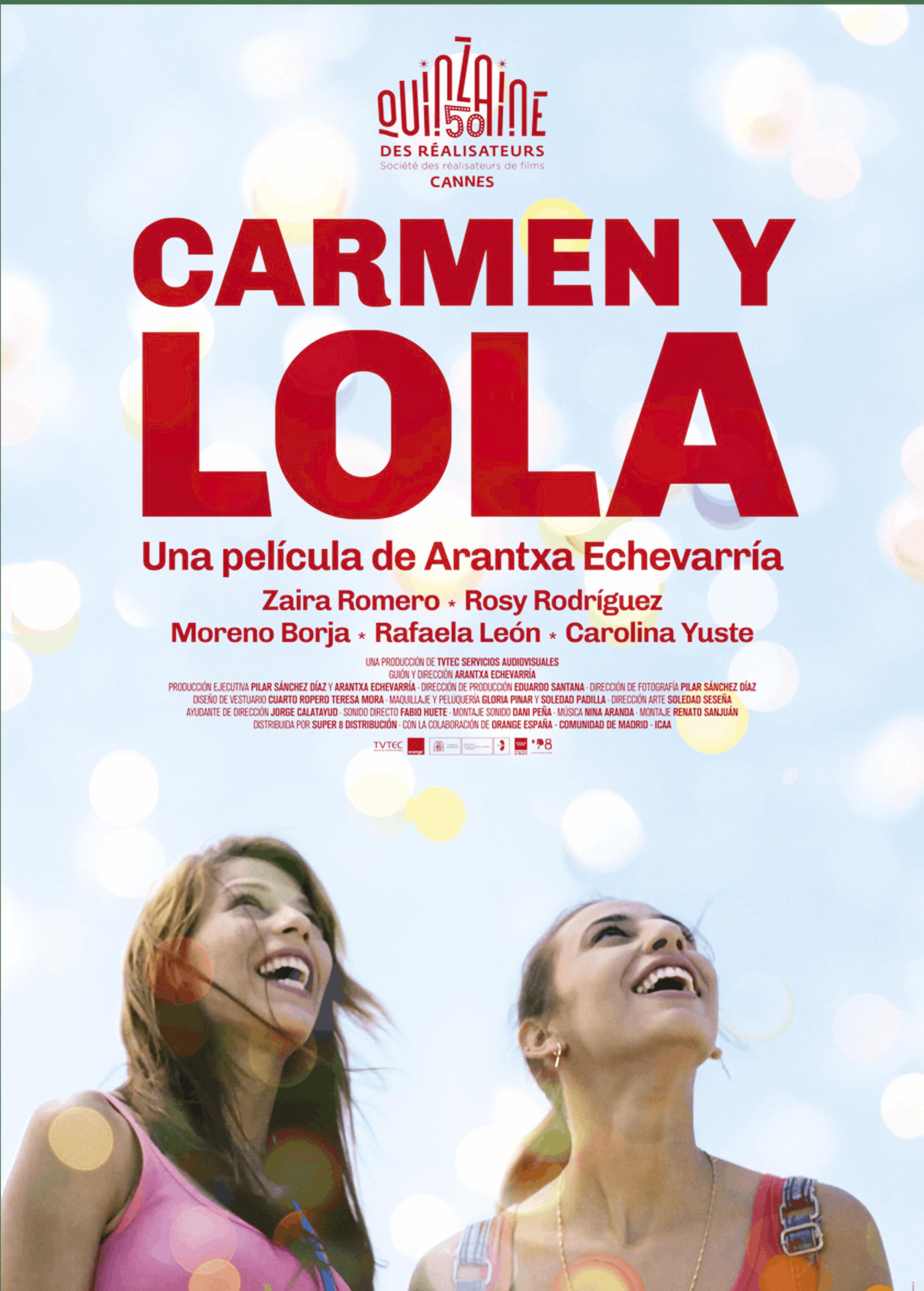 Arantxa Echevarría, Carmen y Lola, 2018