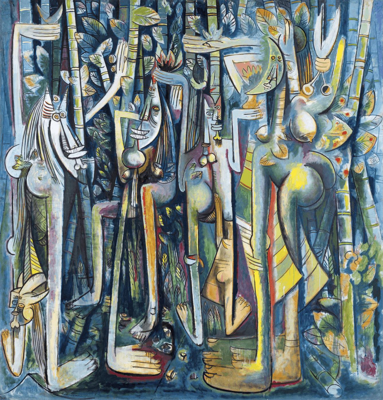 Wifredo Lam, La Jungla, 1943