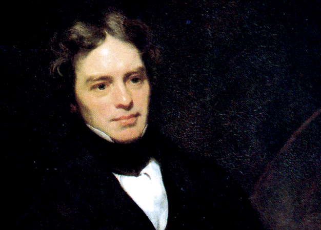 Portrait de Michael Faraday
