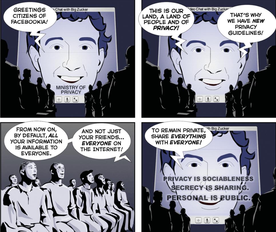 Cartoon The Joy of Tech, Nitrozac & Snaggy, Joyoftech.com, 2009.