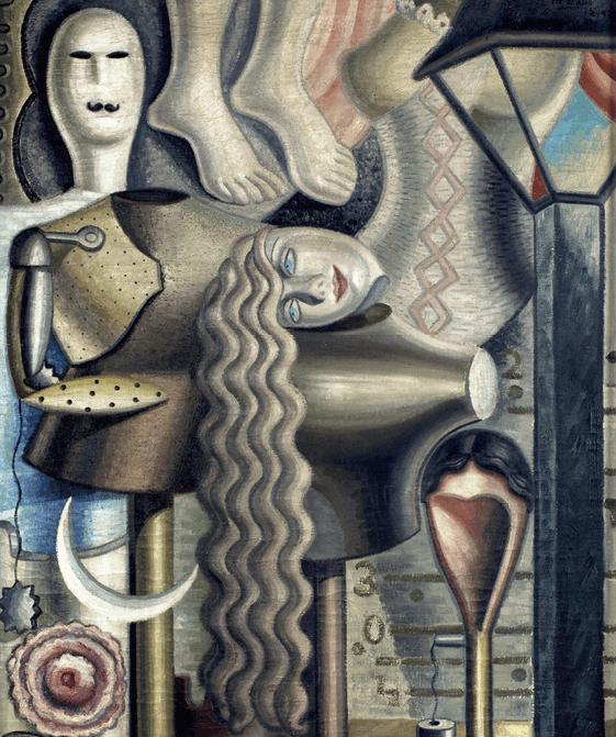 Maruja Mallo, El Escaparate, 1928