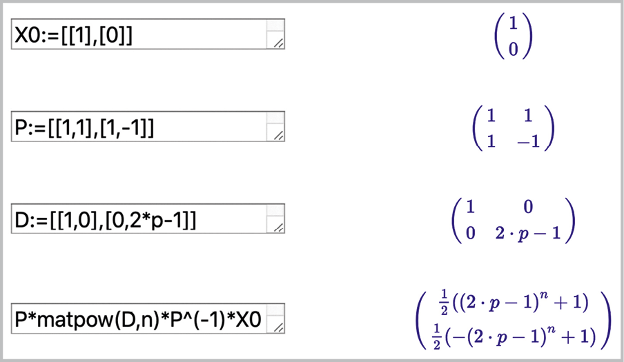 Math expertes- Exercices trasversaux - Exercice 18 - Exemple simple de code correcteur