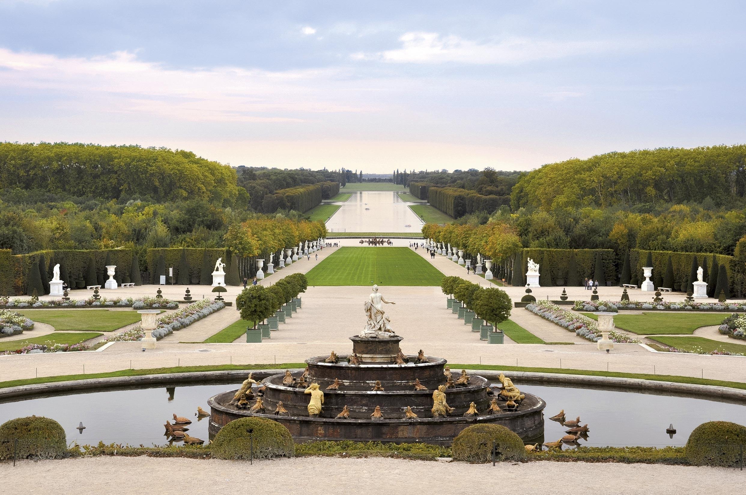 Le Nôtre et les jardins de Versailles.