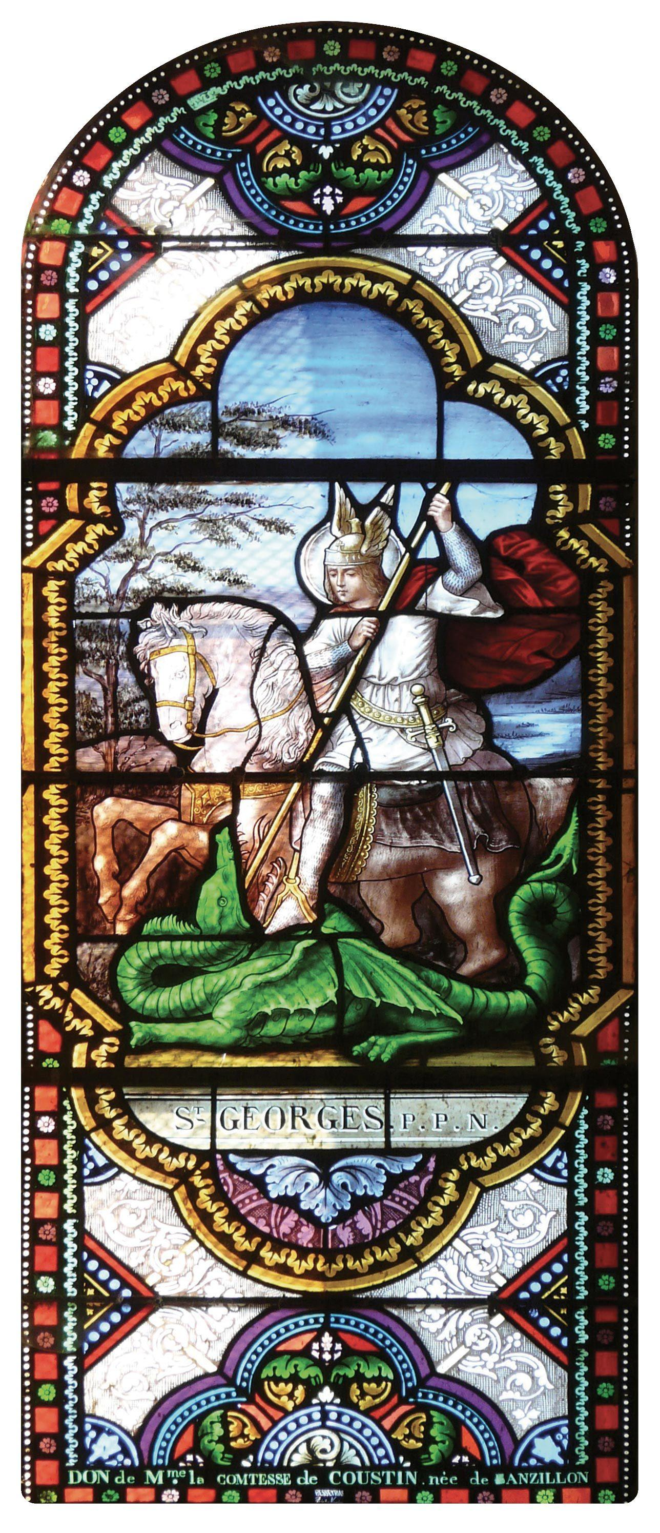 Saint Georges (vitrail)