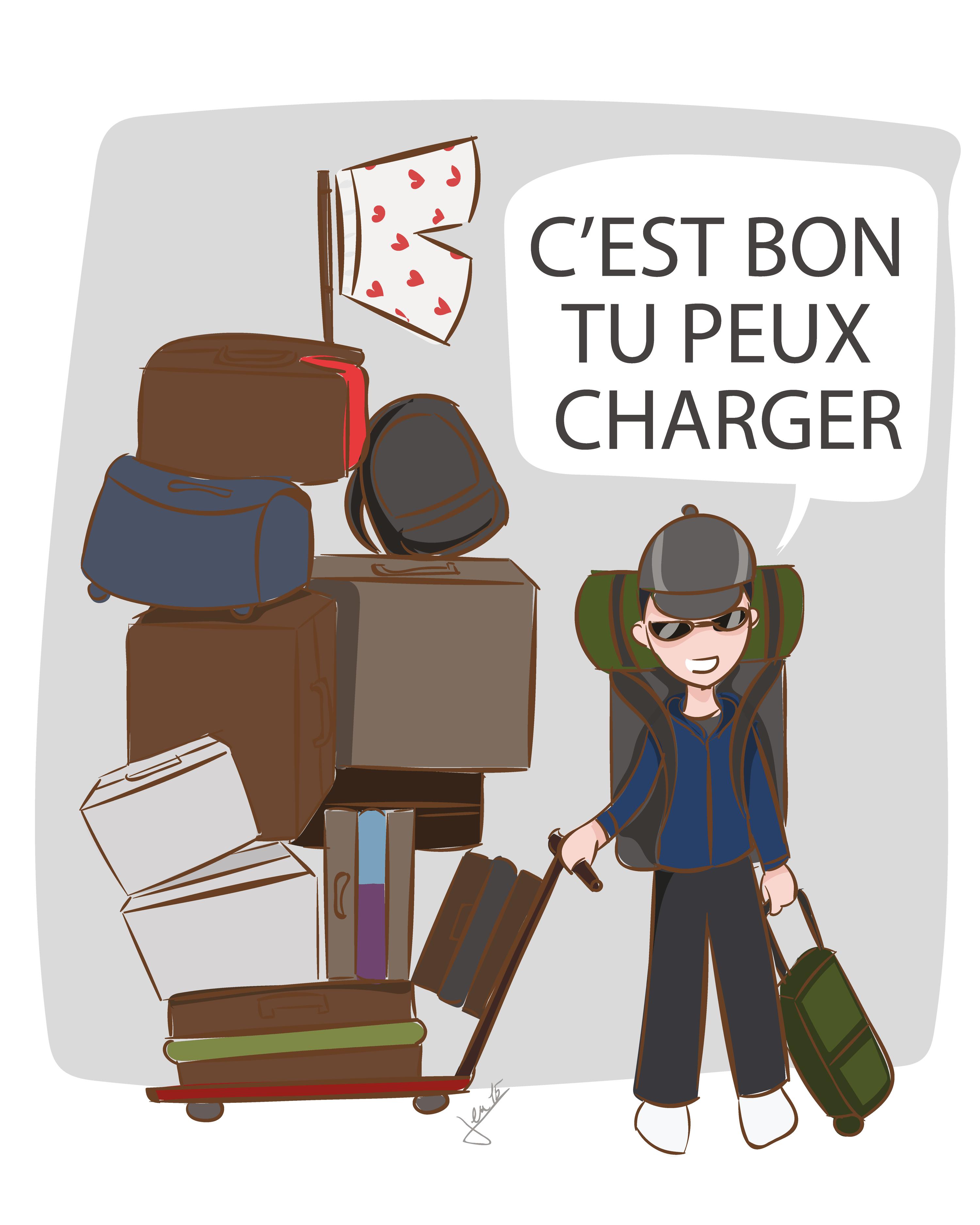 Ex. 1 Quelques bagages