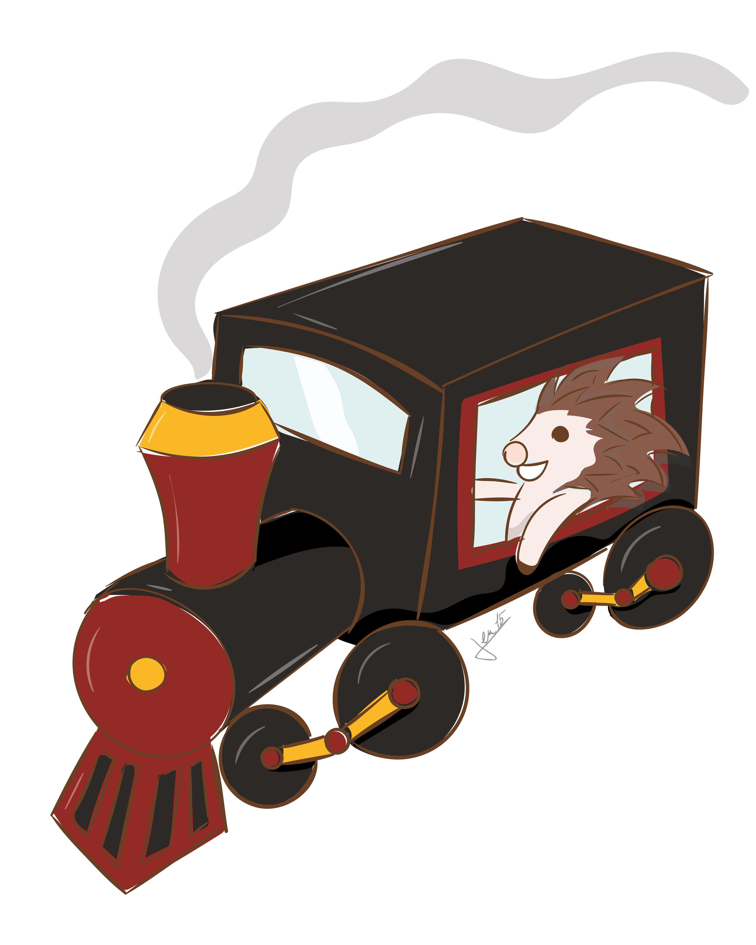 Ex. 1 Un train d'hérisson
