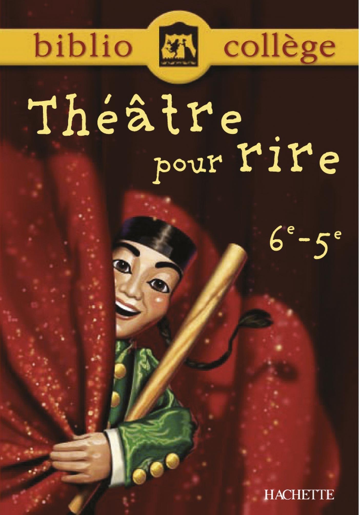 Théâtre pour rire 6ᵉ-5ᵉ