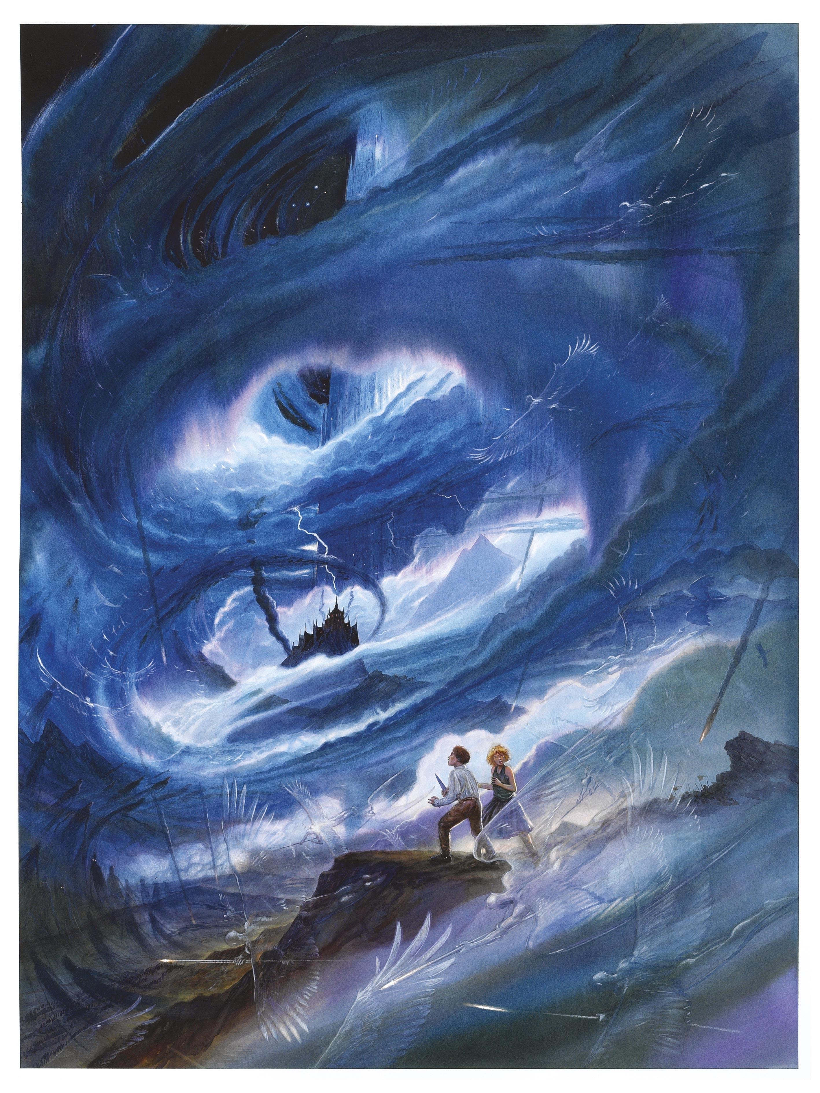 illustration de John Howe, 2002.