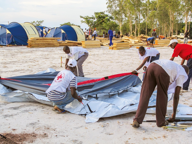 <stamp theme='his-green2'>Doc. 1</stamp> Installation d'un camp de réfugiés à Brazzaville