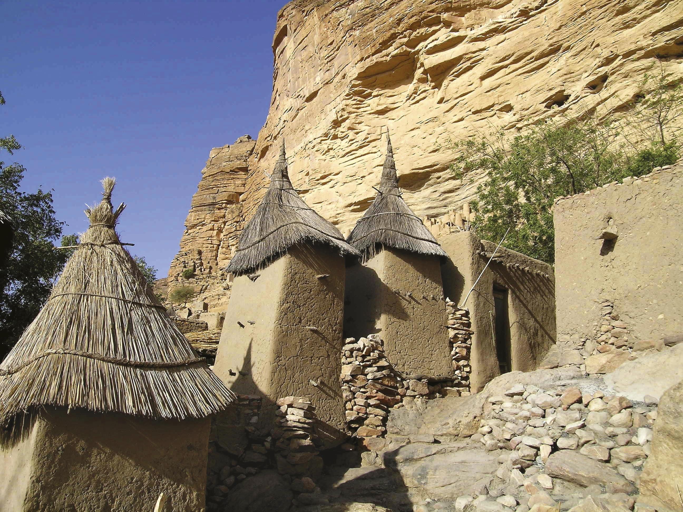 Maisons du pays dogon