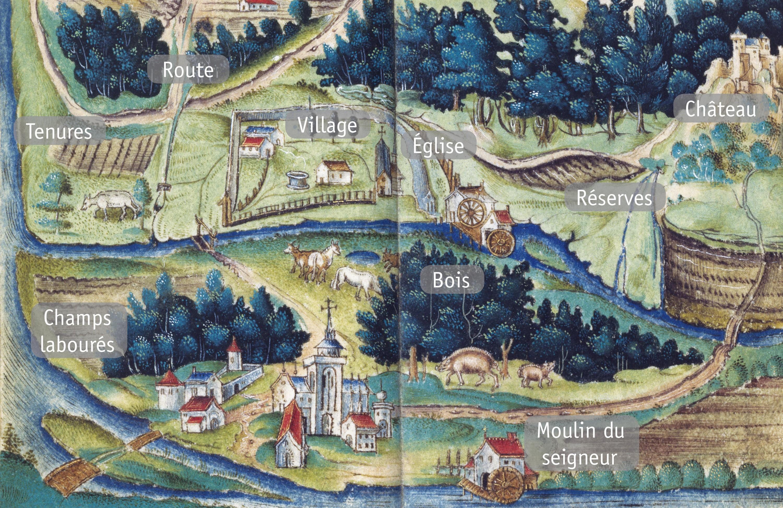 <stamp theme='his-green2'>Doc. 4</stamp> Une seigneurie ecclésiastique à la fin du XVᵉ siècle