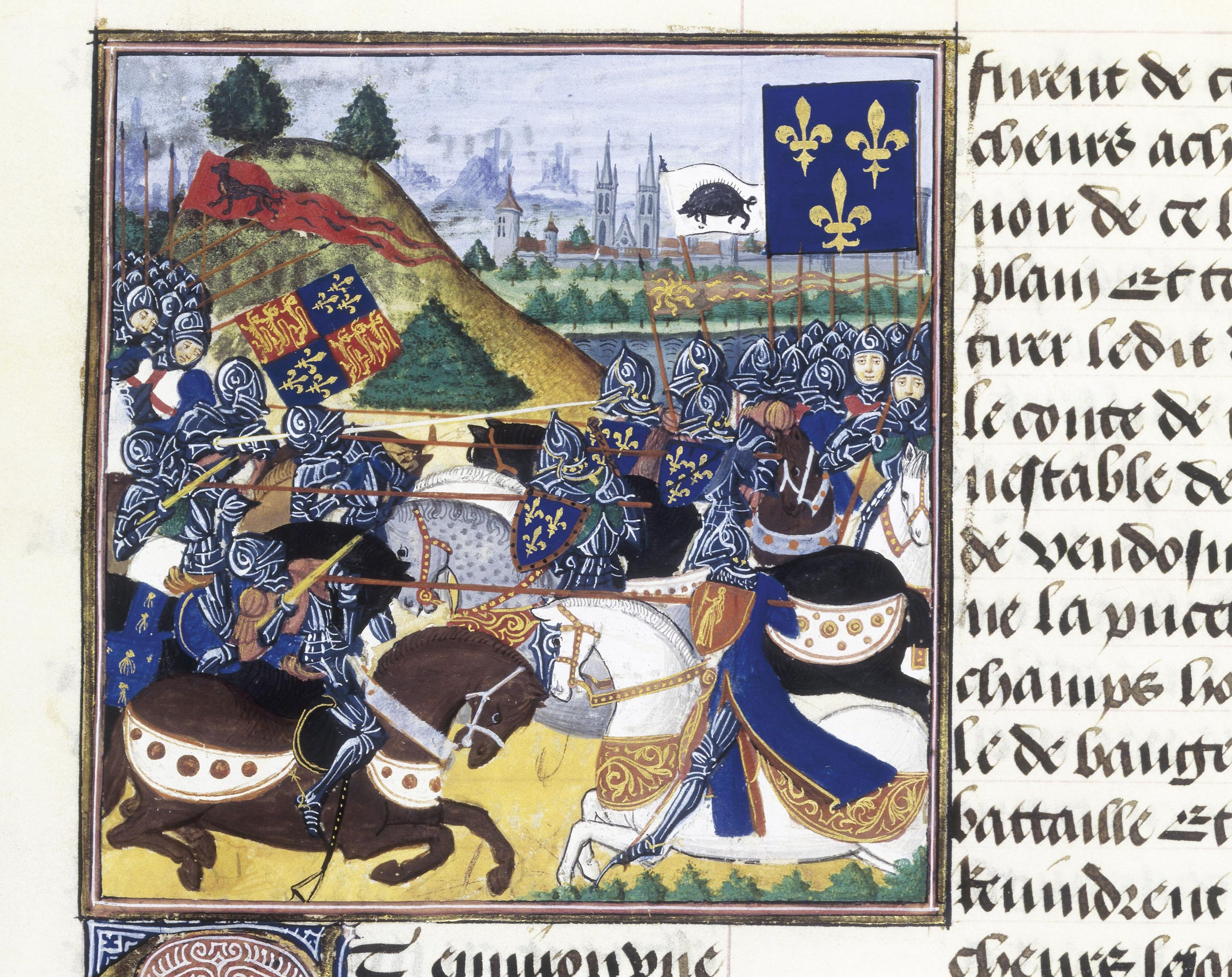 <stamp theme='his-green2'>Doc. 3</stamp> La bataille de Patay (1429)