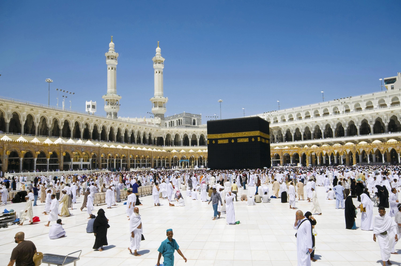 La Kaaba, monument symbolique de l'islam