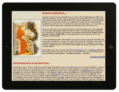<stamp theme='his-green2'>Doc. 2</stamp> Le résumé de la vie de saint Pixel