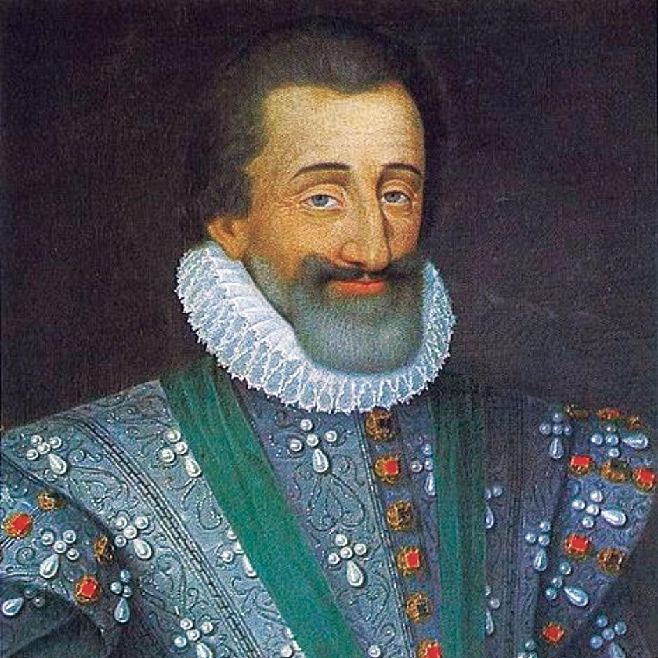 <stamp theme='his-green2'>Doc. 2</stamp> Henri IV (1553-1610)