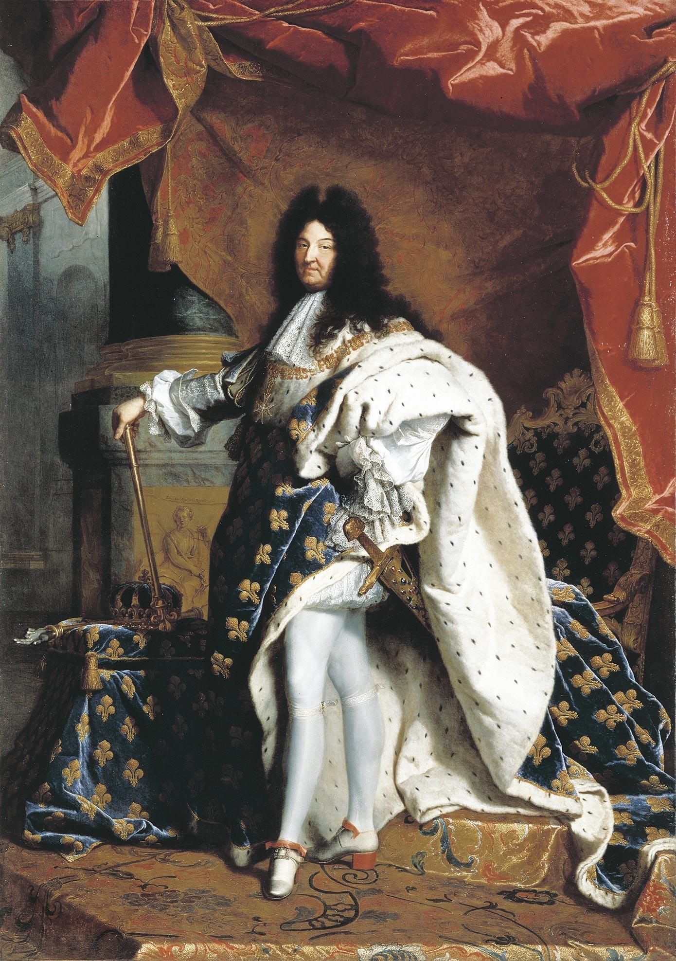 <stamp theme='his-green2'>Doc. 1</stamp> Louis XIV en costume de sacre