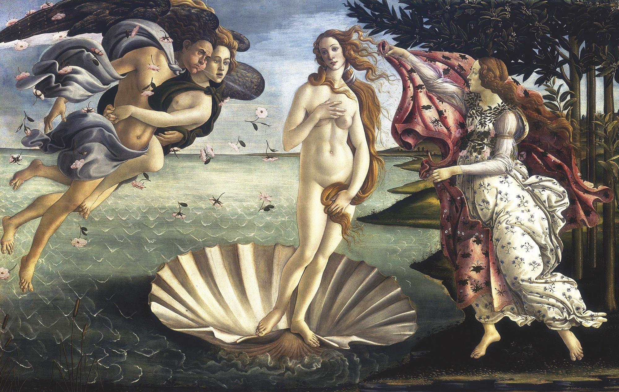 <stamp theme='his-green2'>Doc. 3</stamp> La Naissance de Vénus par Sandro Botticelli