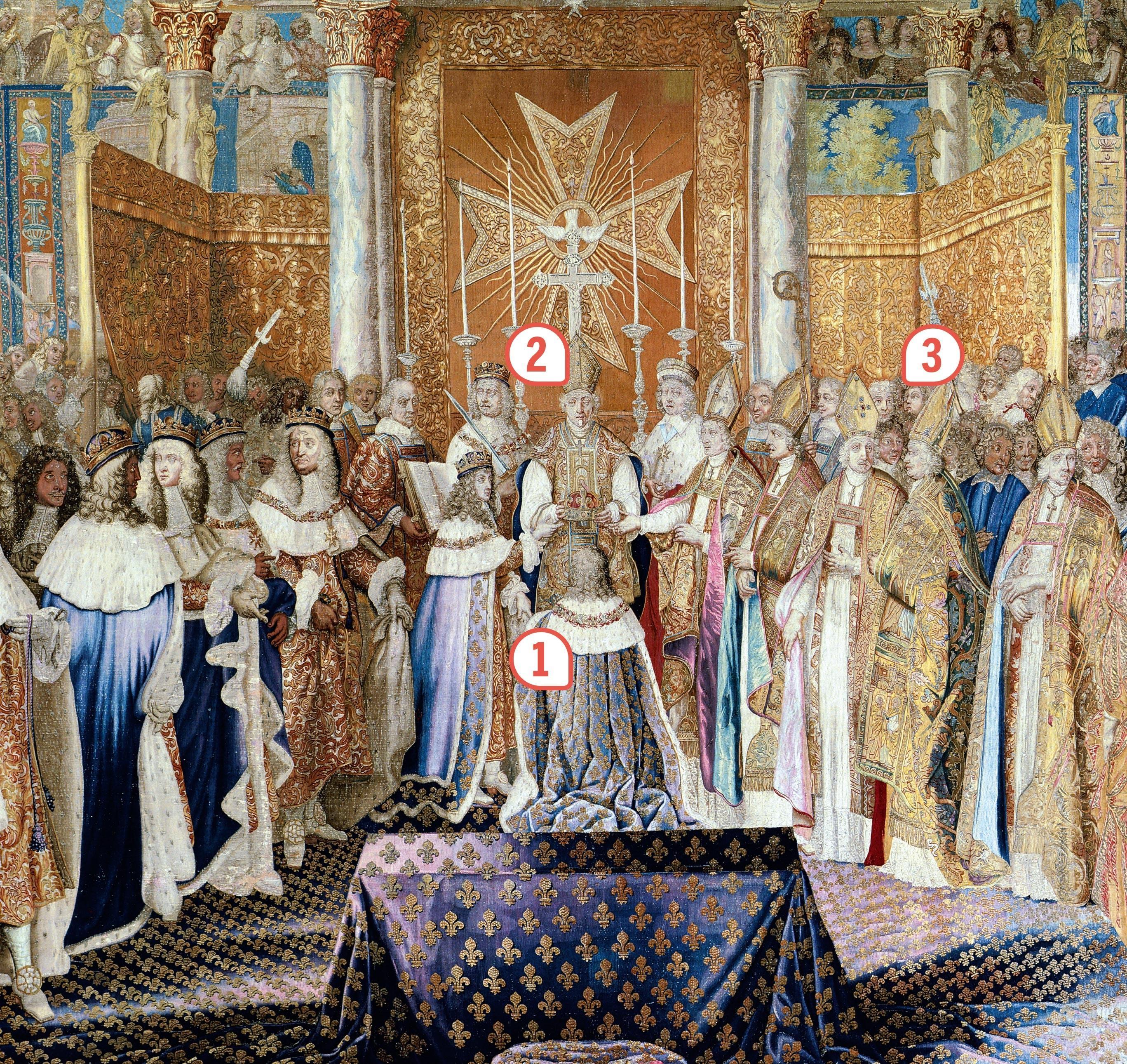 <stamp theme='his-green2'>Doc. 2</stamp> Le sacre de Louis XIV à Reims le 7 juillet 1654