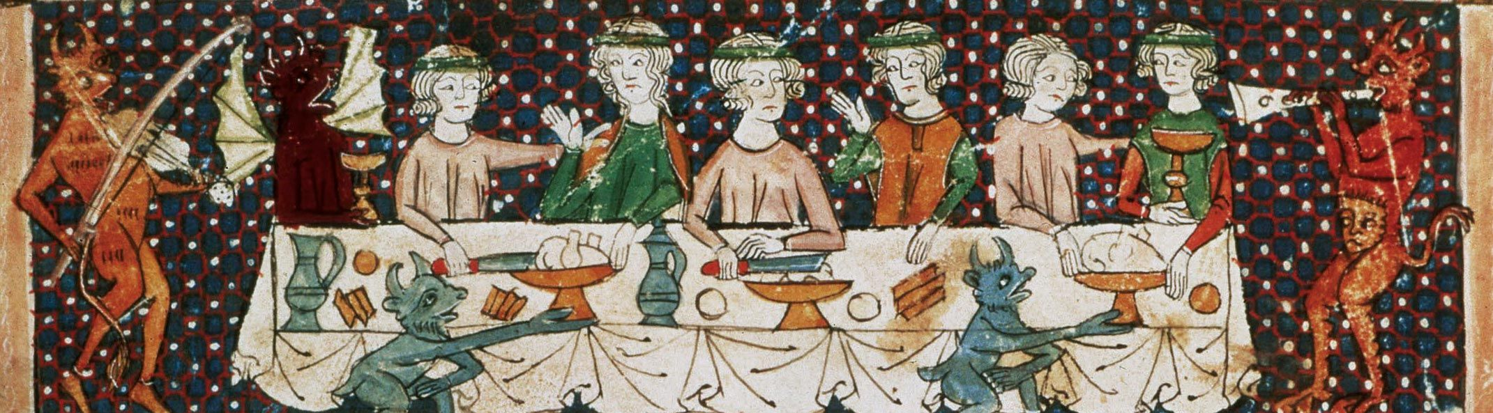 <stamp theme='his-green2'>Doc. 4</stamp> Un banquet au château