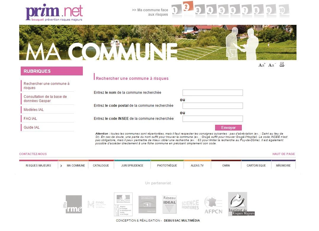 <stamp theme='his-green2'>Doc. 3</stamp> Les risques de toutes les communes de France