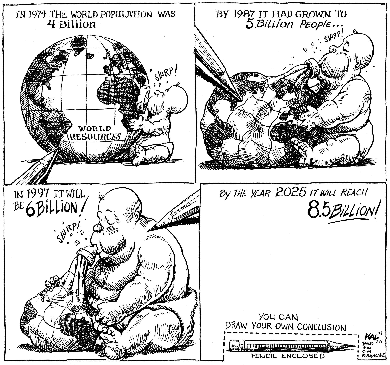 <stamp theme='his-green2'>Doc. 4</stamp> Croissance de la population mondiale et ressources