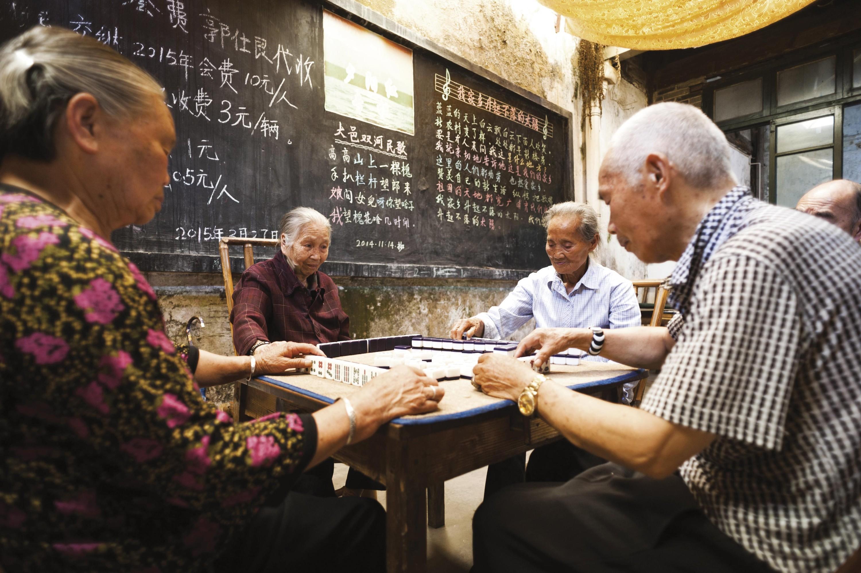 <stamp theme='his-green2'>Doc. 2</stamp> Le vieillissement de la population en Chine