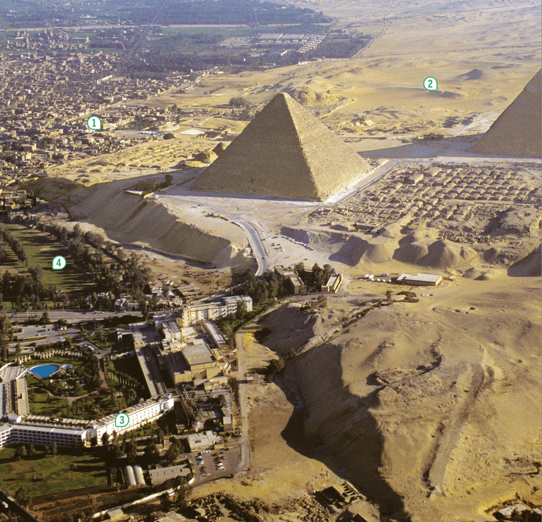 <stamp theme='his-green2'>Doc. 1</stamp> La croissance de la métropole du Caire