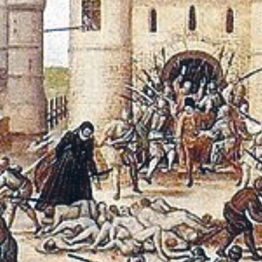 <stamp theme='his-green2'>Doc. 1</stamp> Le massacre de la Saint-Barthélémy