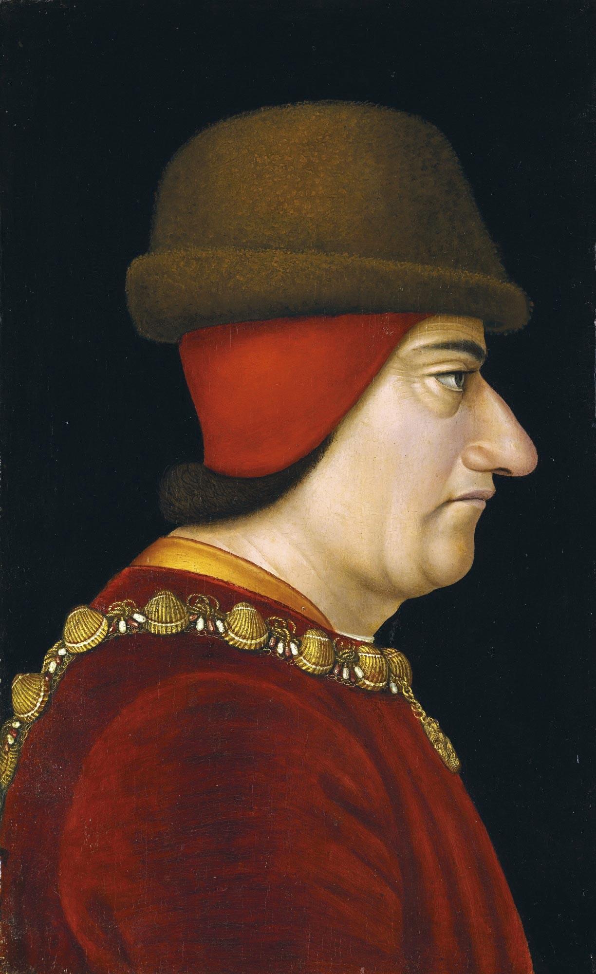 <stamp theme='his-green2'>Doc. 4</stamp> Louis XI (1423-1483)