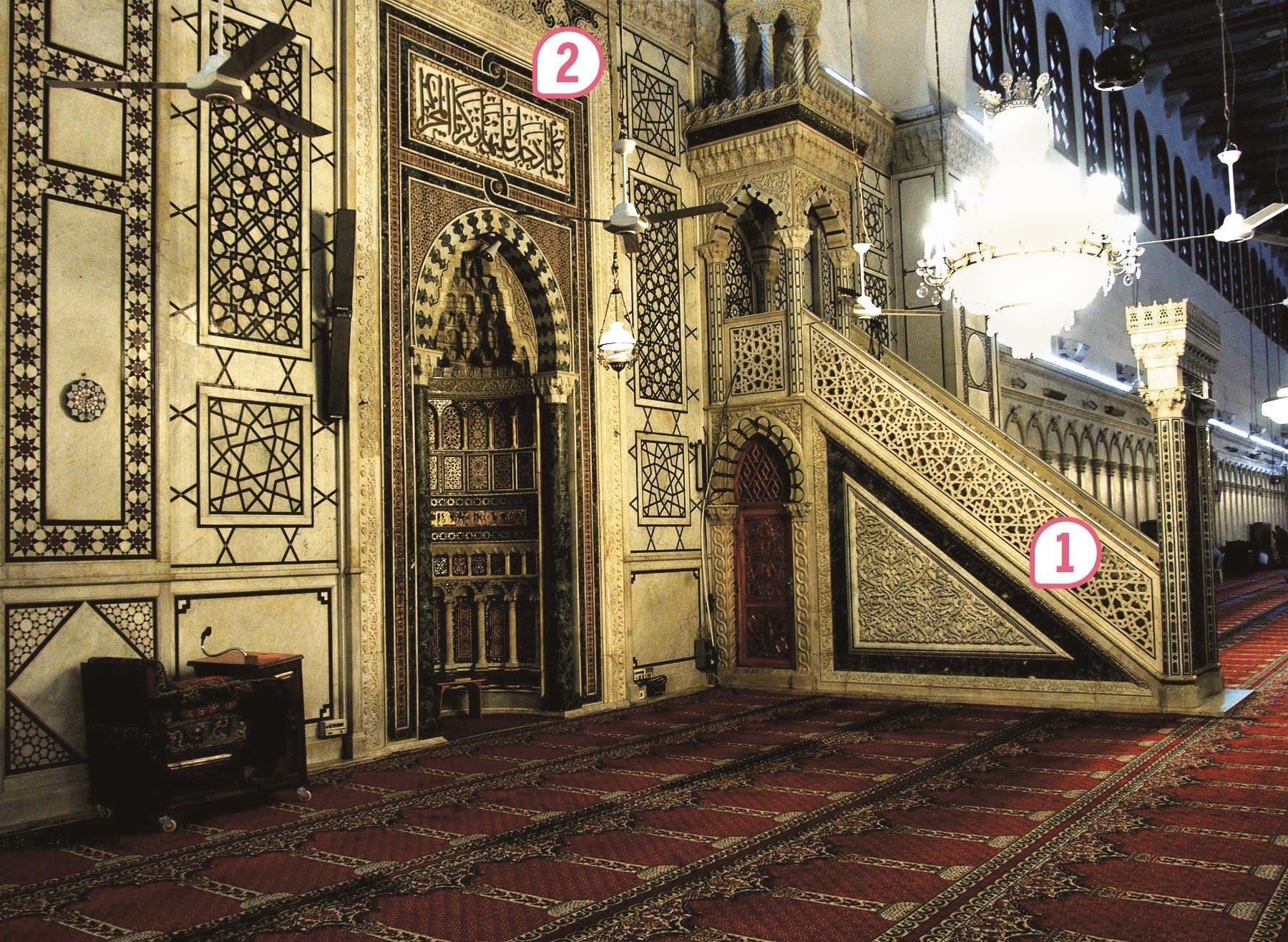 <stamp theme='his-green2'>Doc. 3</stamp> L'intérieur de la mosquée