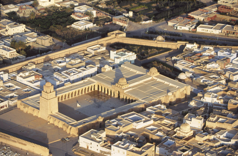 <stamp theme='his-green2'>Doc. 2</stamp> La Grande mosquée de Kairouan