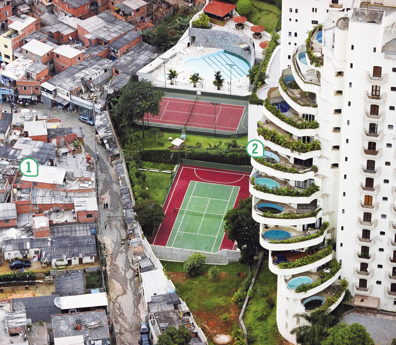 <stamp theme='his-green2'>Doc. 1</stamp> Un quartier au Brésil