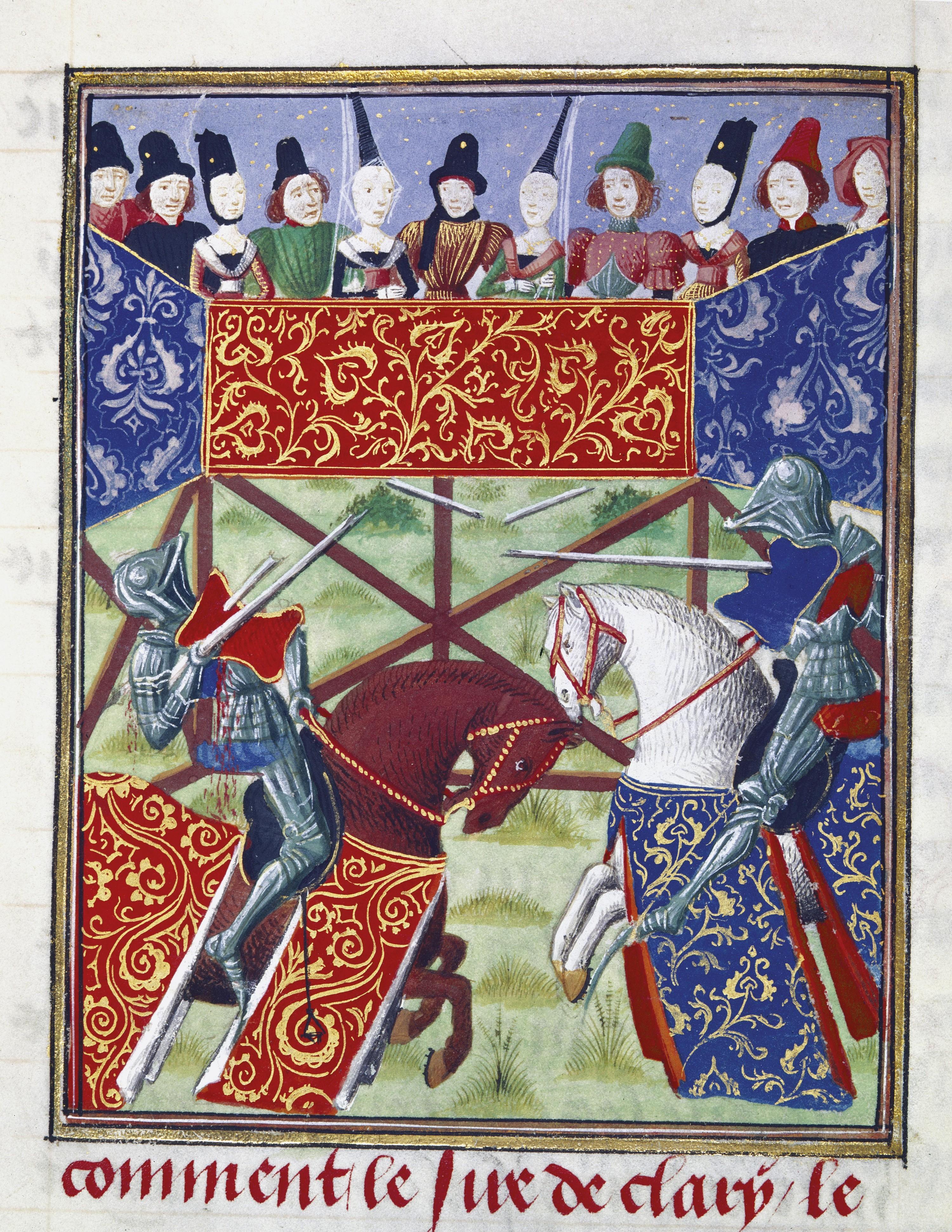 <stamp theme='his-green2'>Doc. 3</stamp> Un tournoi de chevaliers