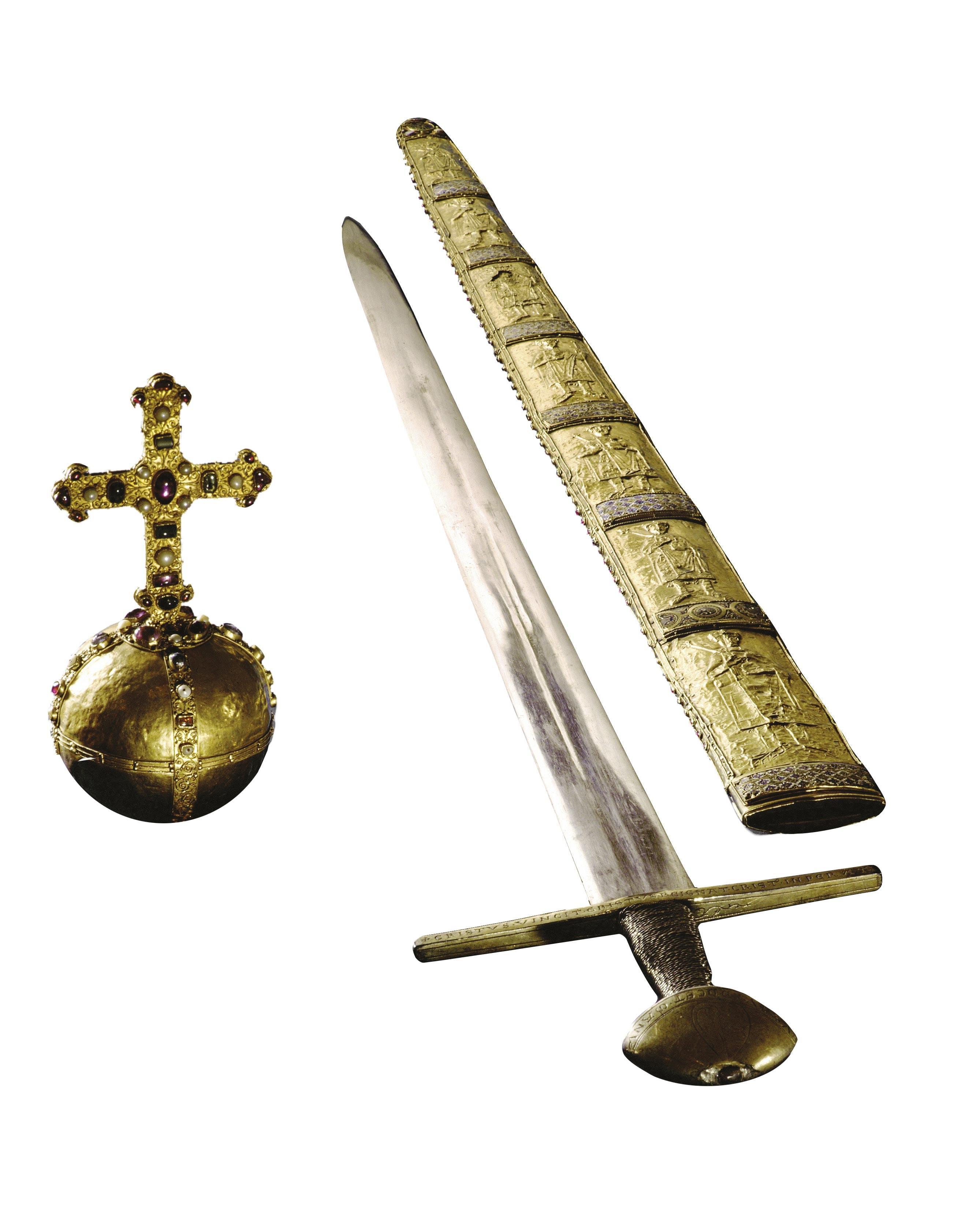 <stamp theme='his-green2'>Doc. 3</stamp> Les regalia, symboles du pouvoir des empereurs et rois de Germanie