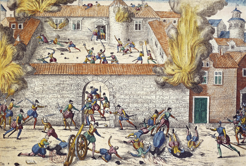 <stamp theme='his-green2'>Doc. 4</stamp> Un massacre de protestants à Cahors
