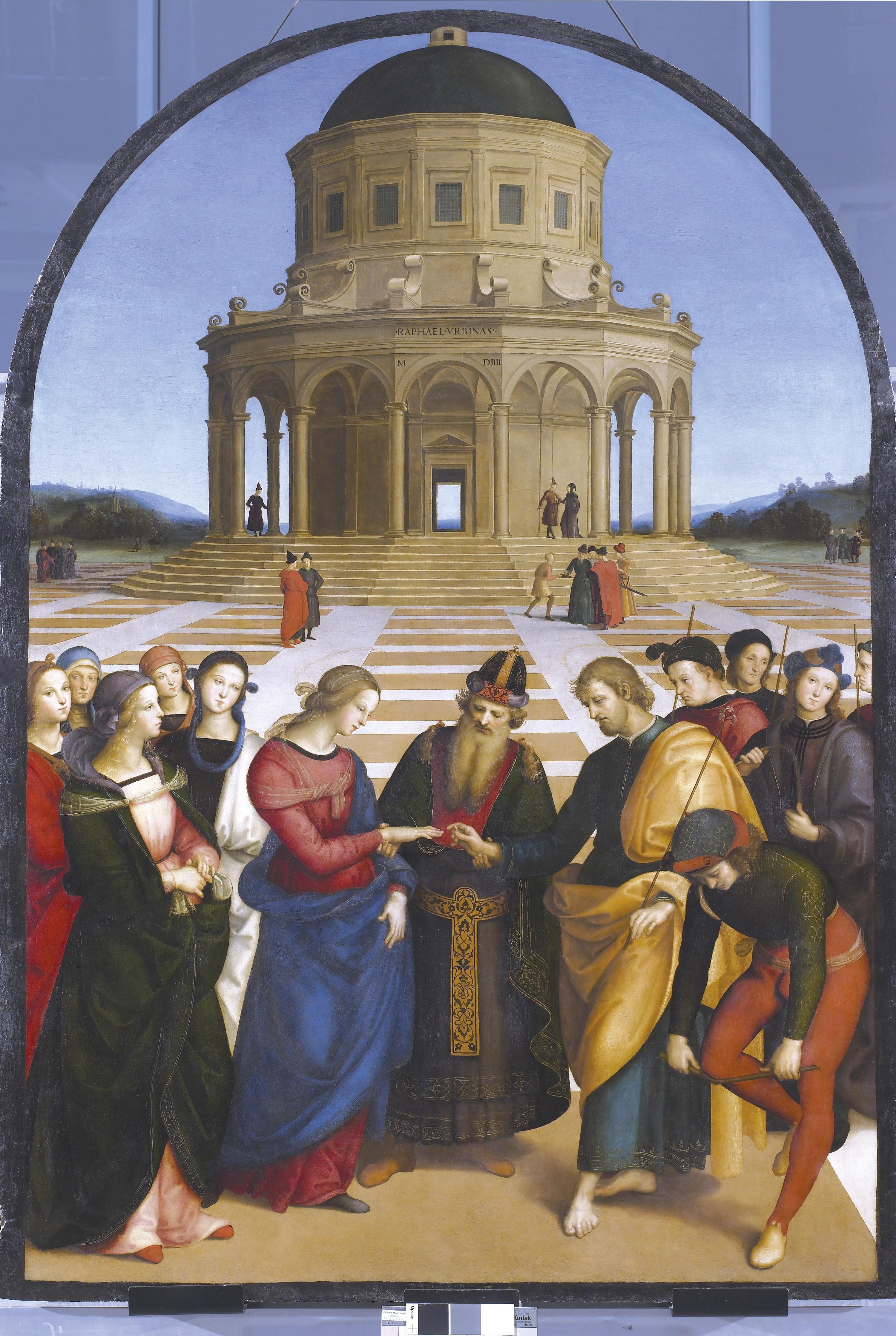 <stamp theme='his-green2'>Doc. 2</stamp> Raphaël, Le Mariage de la Vierge