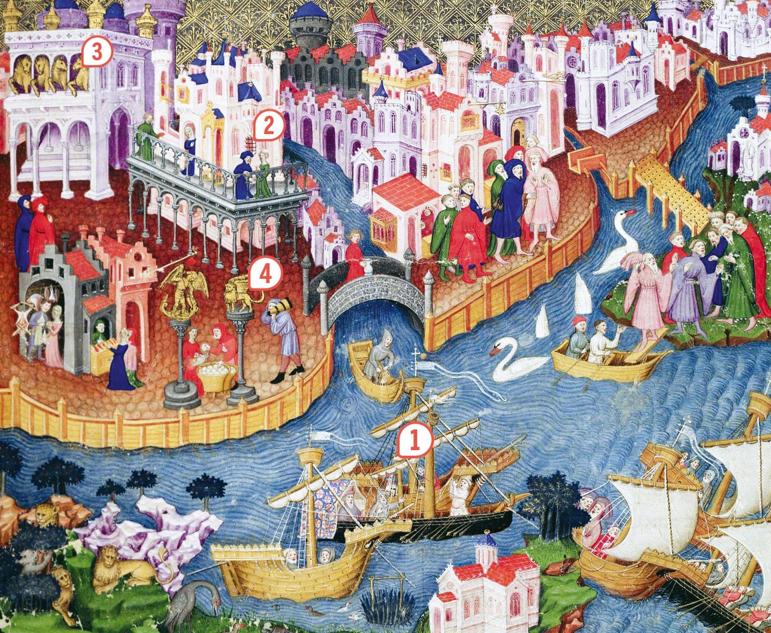 <stamp theme='his-green2'>Doc. 2</stamp> Venise à la fin du XVᵉ siècle
