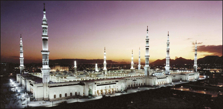 <stamp theme='his-green2'>Doc. 3</stamp> La mosquée du Prophète à Médine