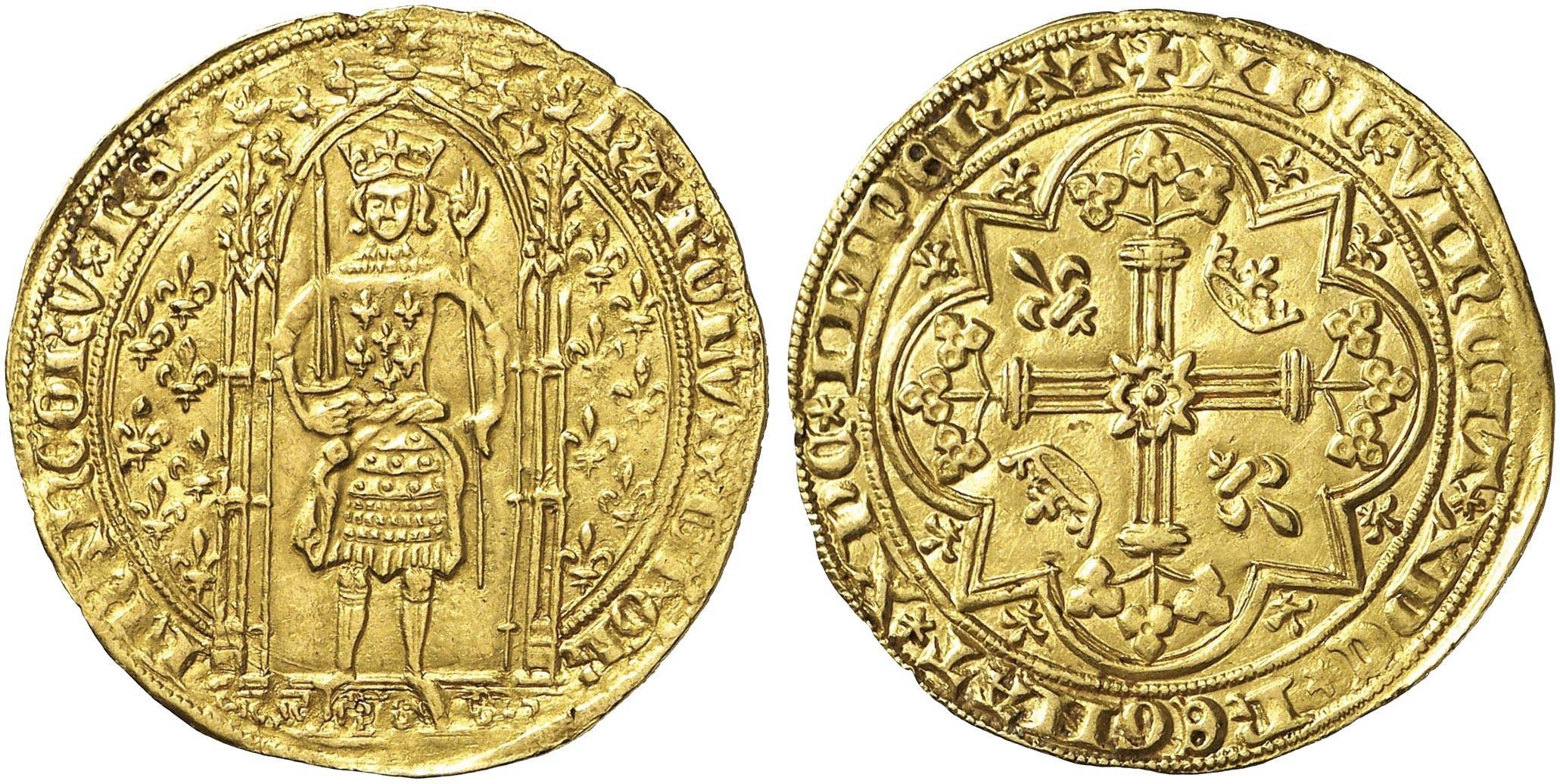 <stamp theme='his-green2'>Doc. 2</stamp> Charles V sur son trône