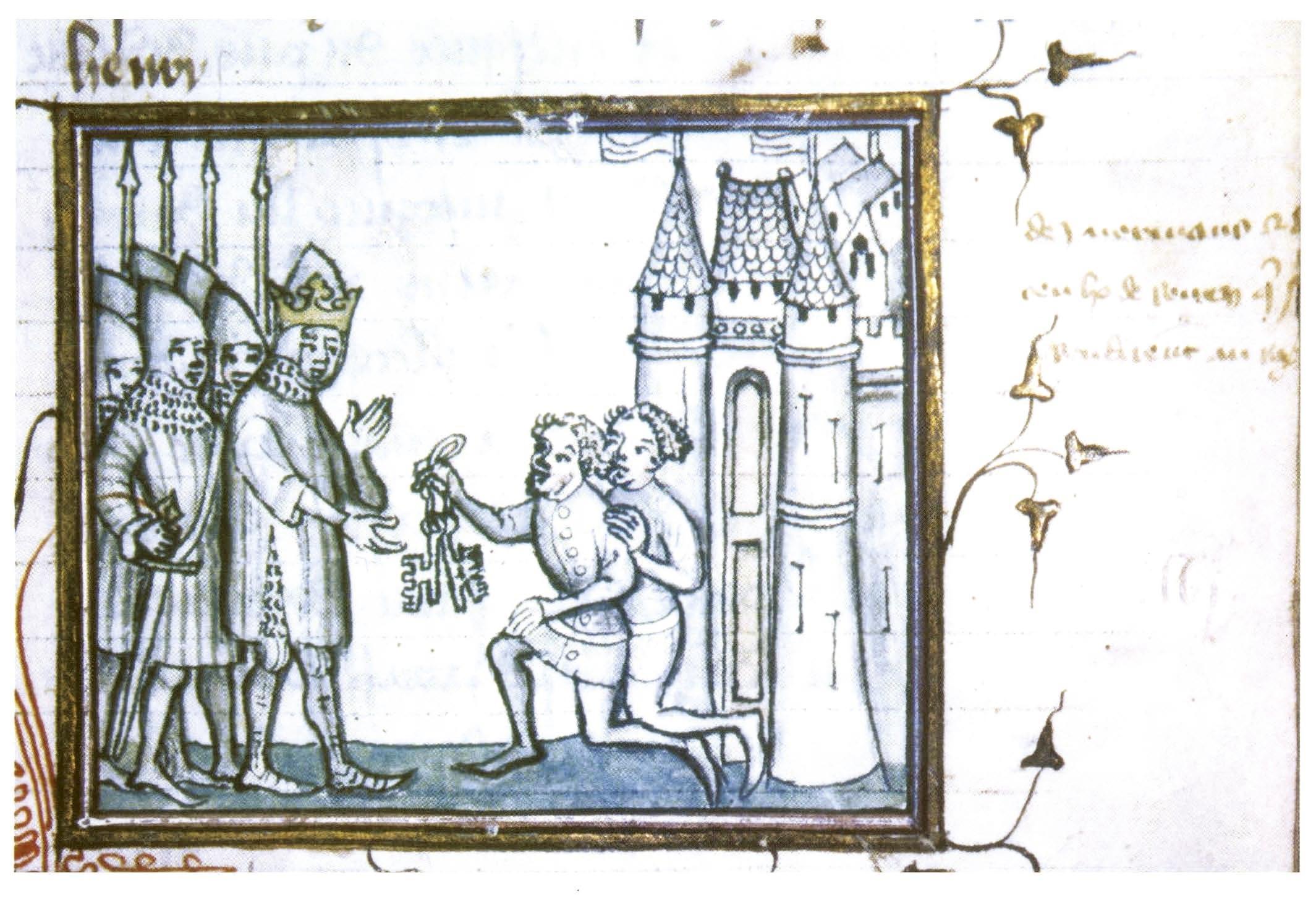 <stamp theme='his-green2'>Doc. 3</stamp> La ville de Rouen se rend au roi Philippe Auguste (1204)
